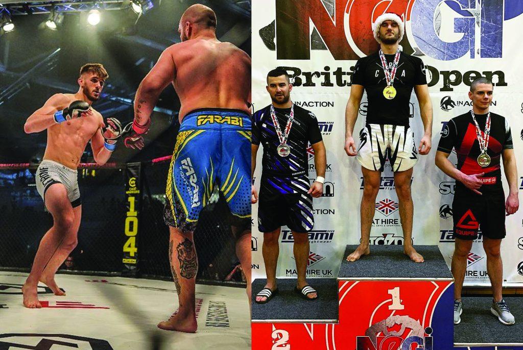 Mitchell - Nogi British Champion